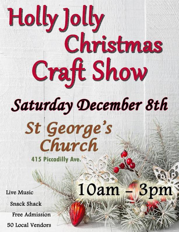 Holly Jolly Christmas Craft Show !!
