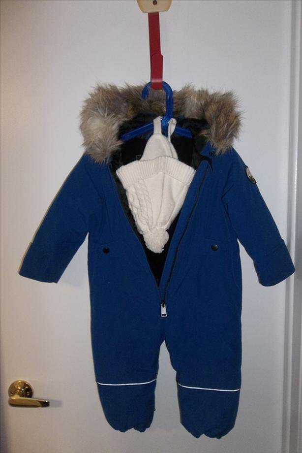 f13ee5628 Alpine 1 piece snowsuit size 18 month +brand new hat boy or girl ...