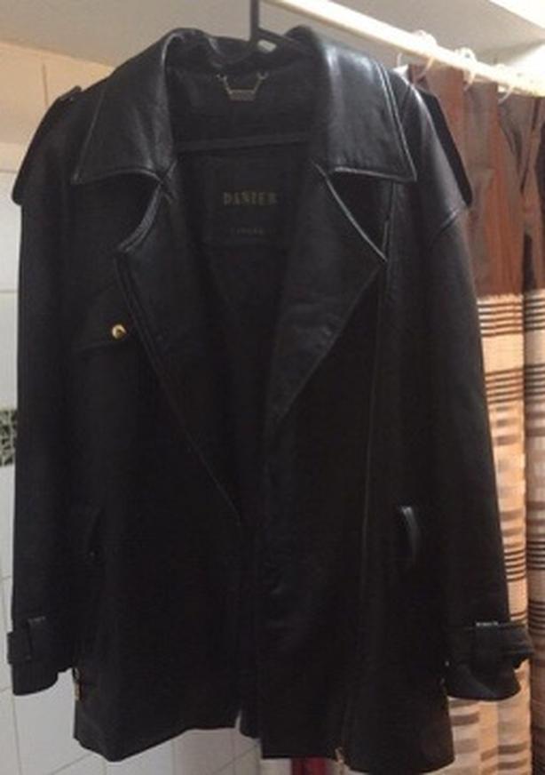 Large woman's leather jacket