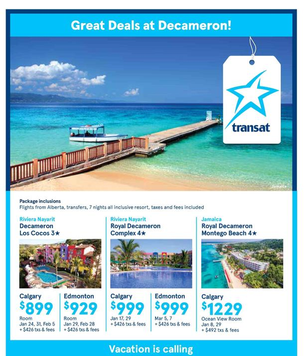 Royal Decameron Resorts in Mexico or Caribbean