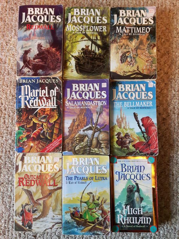 Redwall Series Books