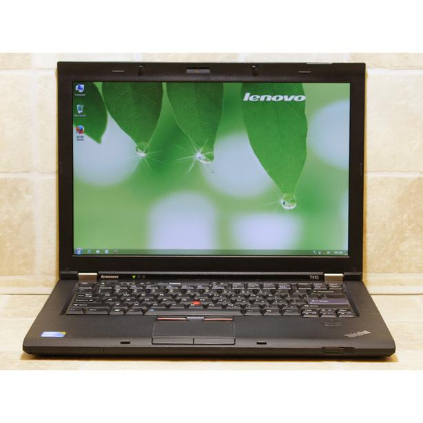 """Lenovo Laptop T410 Webcam i5 WiFi 2.67GHz 4GB RAM 320GB 14.1"""" DVDRW"""