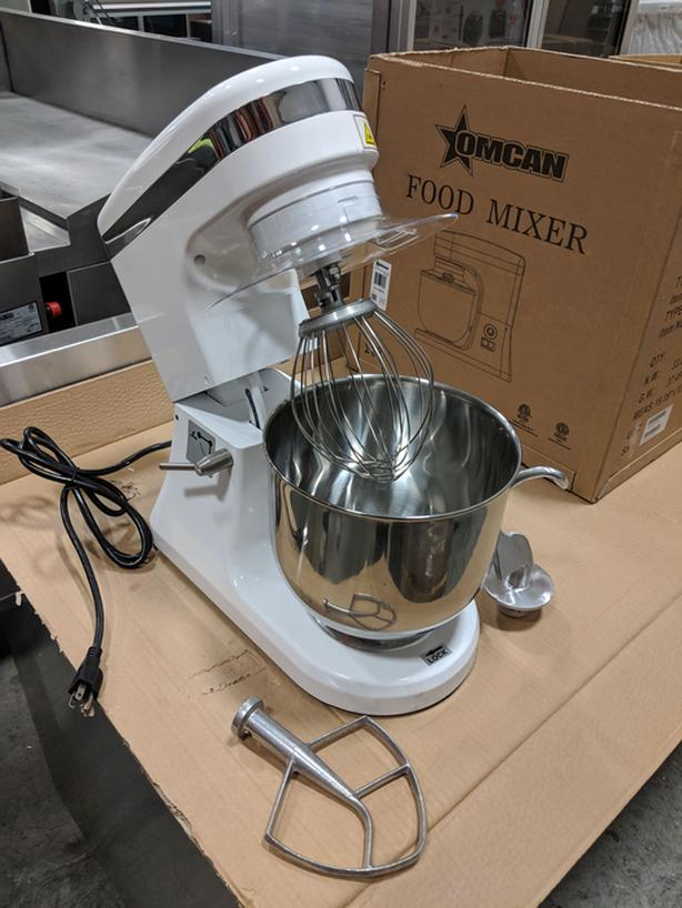 Commercial Planetary Mixers – NEW Auction Liquidation