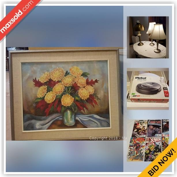 North York Downsizing Online Auction -Bathurst Manor and Goddard St.