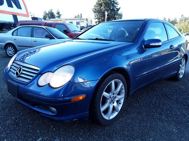 2003 Mercedes-Benz C240 loaded luxury vehicle