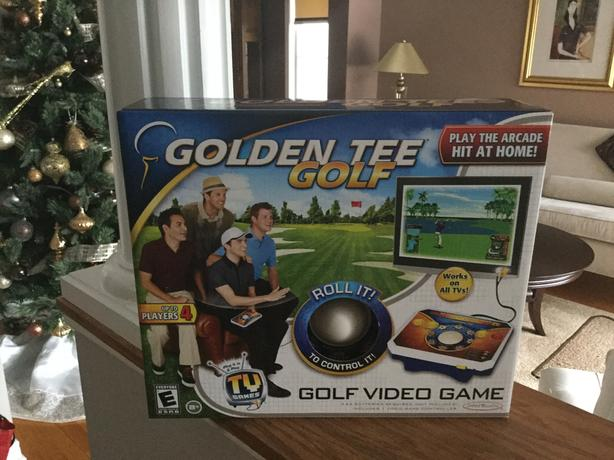 NEW GOLDEN TEE GOLF VIDEO GAME