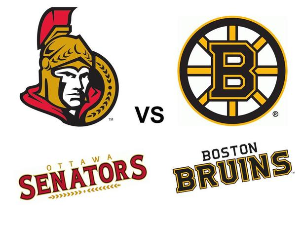 2 tickets for Ottawa Senators vs Boston Bruins inc. Parking Pass.
