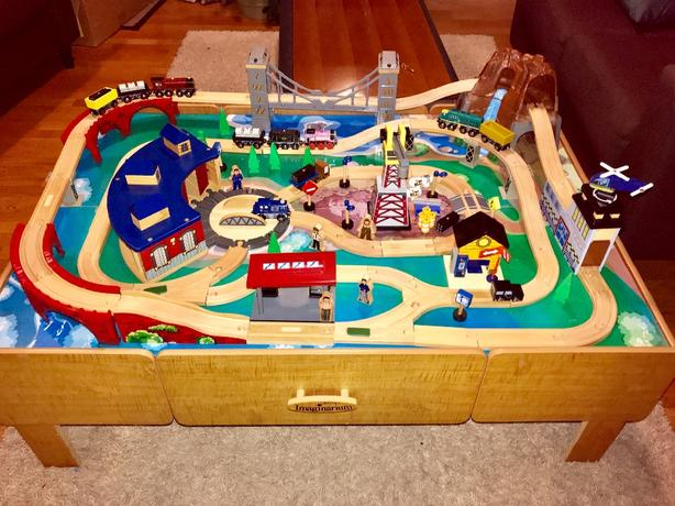 Log In Needed 100 Imaginarium Train Table With Roundhouse Trains Vehicles Et