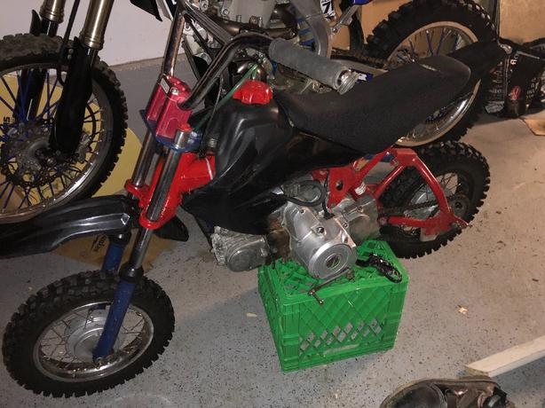 50cc Dirt Bike Honda Frame