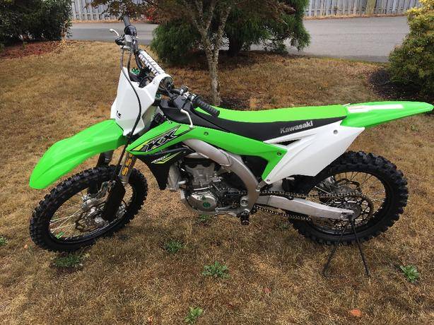 2018 KX450F *REDUCED FOR QUICK SALE*