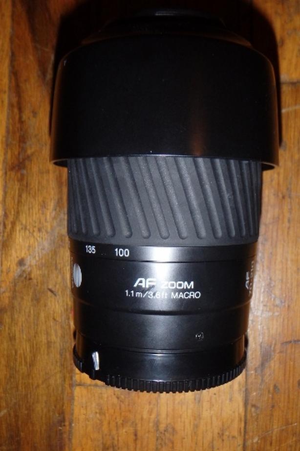 Minolta AF 70-210mm F4.5-5.6 Sony A-mount lens