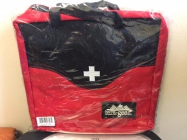 Tera Gear First Aid Bag, Red (New)