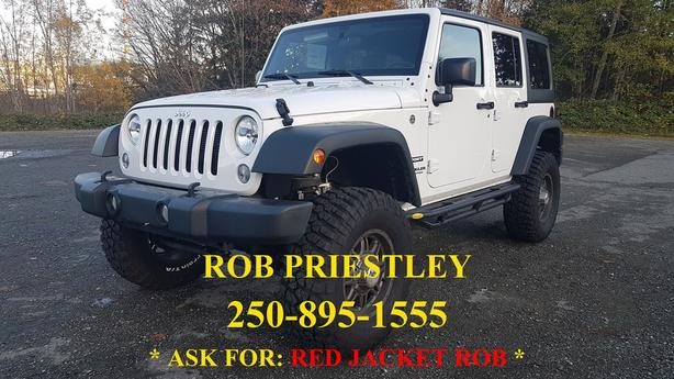 DEMO*2017 JEEP WRANGLER UNLIMITED SPORT 4X4 *LIFTED*RIMS*TIRE* RED JACKET ROB *