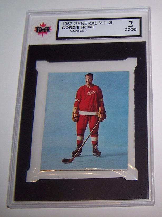 VERY RARE GORDIE HOWE 1967 GENERAL MILLS