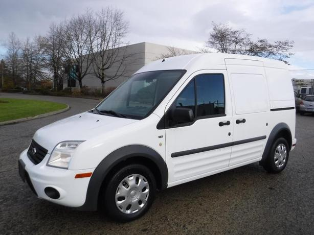 2012 Ford Transit Connect Cargo Van XLT with Side and Rear Door Glass And Shelvi