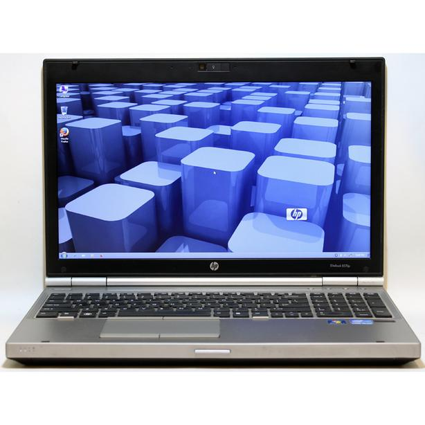 HP EliteBook 8560p Laptop i7 2.8GHz Webcam DVDRW WiFi 8GB RAM 500GB 15.6""