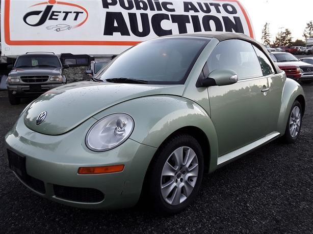 2008 VW Beetle unreserved unit selling to the highest bidder!