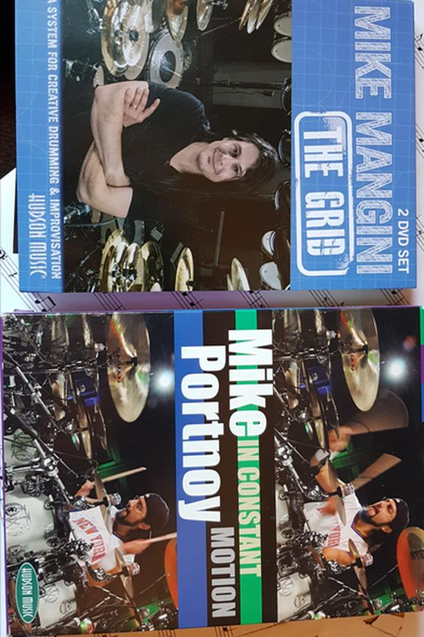 Mike Portnoy / Mike Mangini / Dream Theater DVD sets