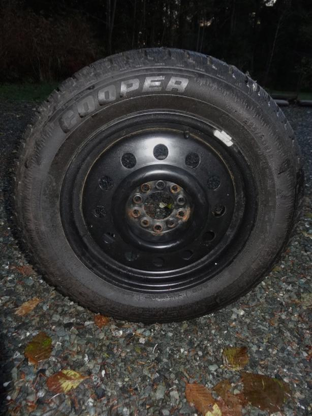 Snow Tires - Almost New 225/60 R16 Universal Rims