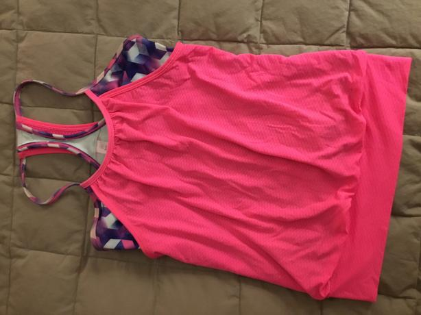 Ivivva size 10 double layer tank