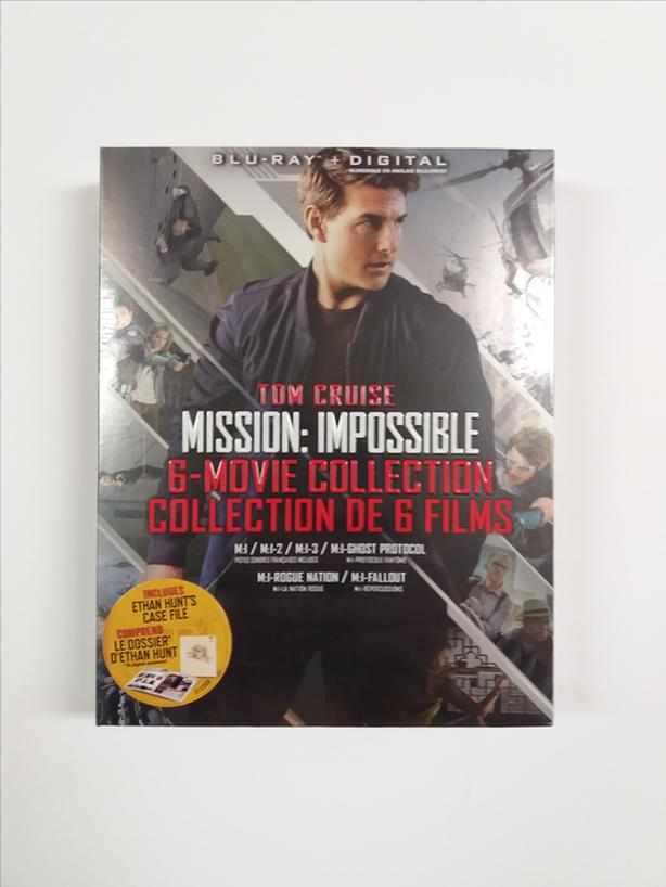Mission: Impossible 6-Movie Collection (Blu-ray + Digital)