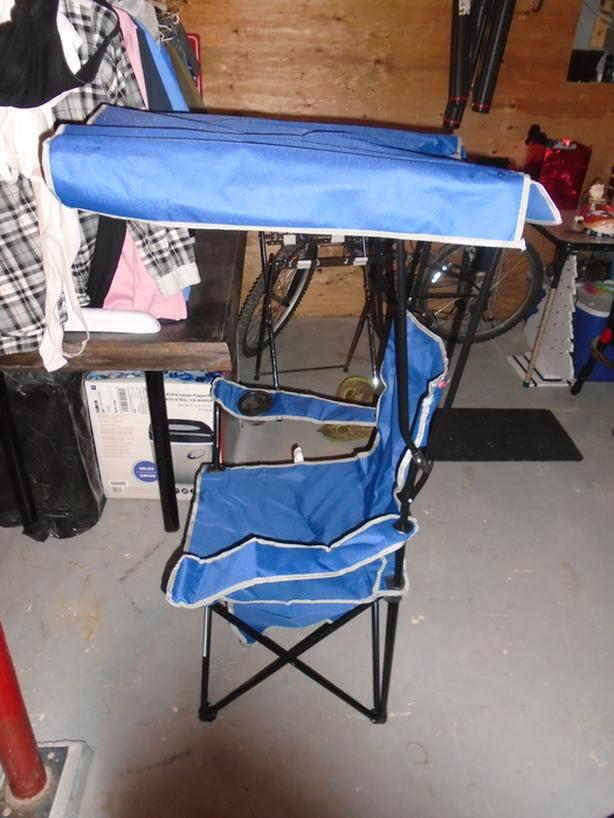 Tera Gear Outdoor Chair w/ Canopy - NEW