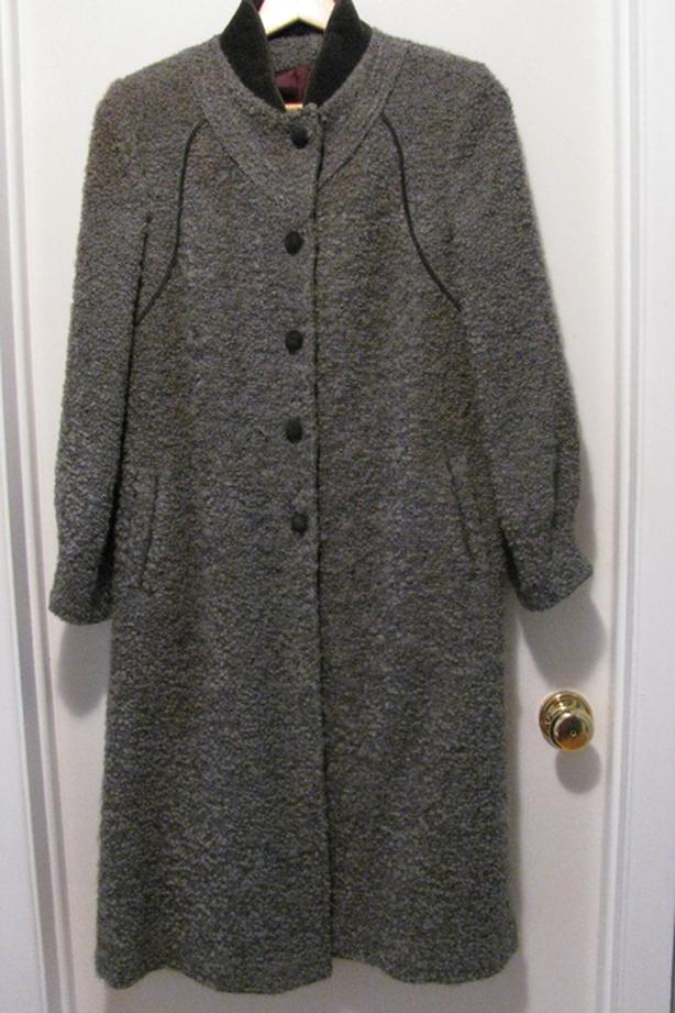 WOOL/MOHAIR WINTER COAT