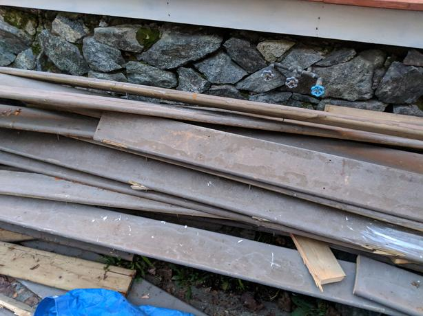 Free - Pressure Treated Deck Boards