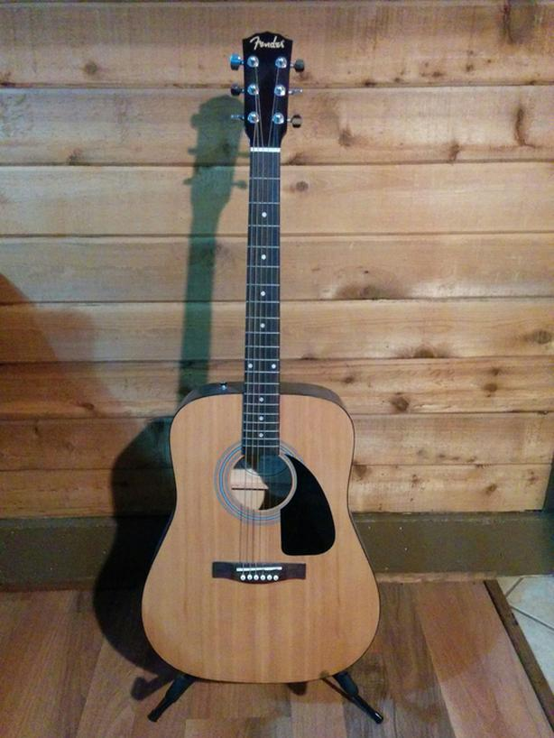 Acoustic Fender Guitar