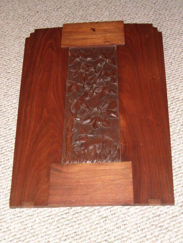 hand carved art picture
