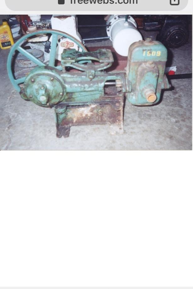 WANTED: old style well pump