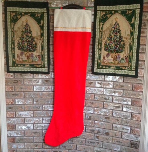 Oversized 5' Christmas Stocking