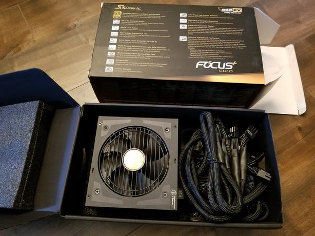 Video card and power supply like new