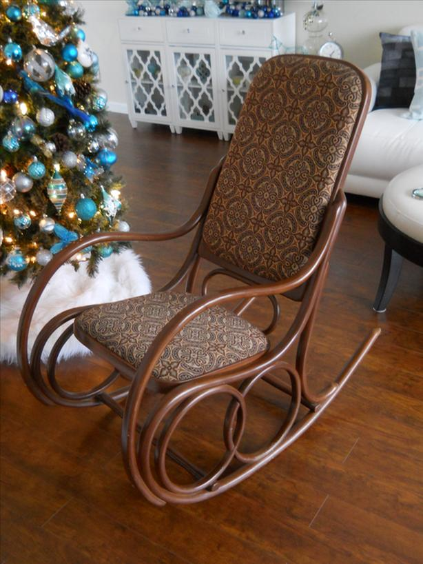 "GORGEOUS ' GERDAU "" BENTWOOD ROCKING CHAIR *** CAN DELIVER"