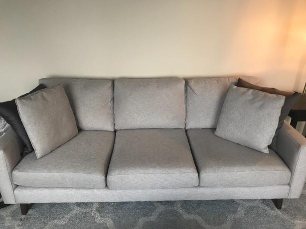 Custom Upholstered Urban Barn Sofa