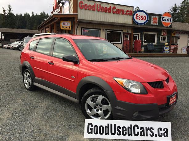 2004 Pontiac Vibe Low KM Manual  - On Sale Now!