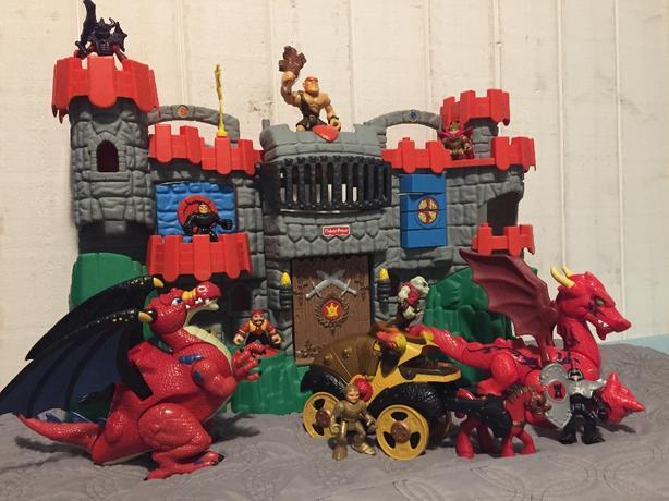 FisherPrice Imaginext Castle & Dragons