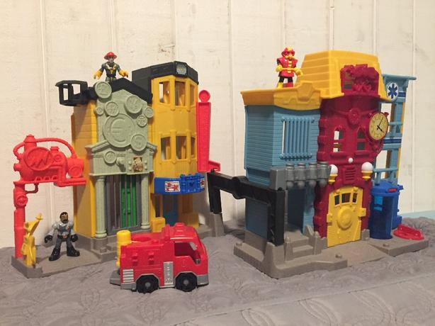 FisherPrice Imaginext Fire Station