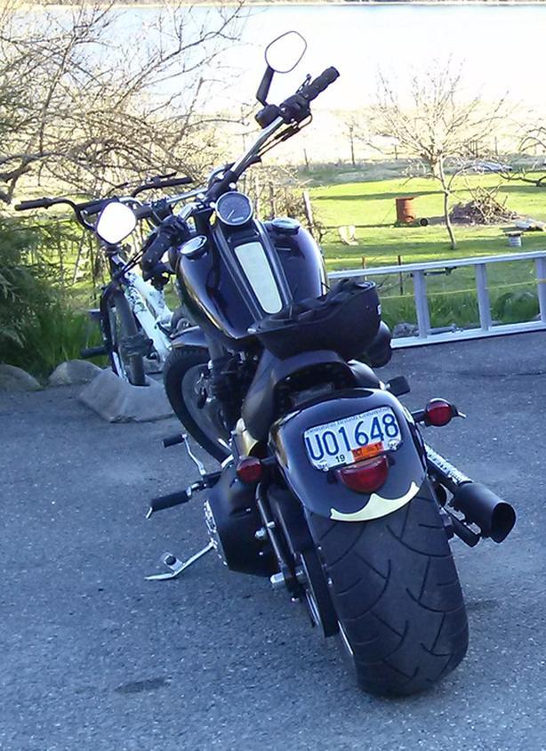 2009 Harley Rocker