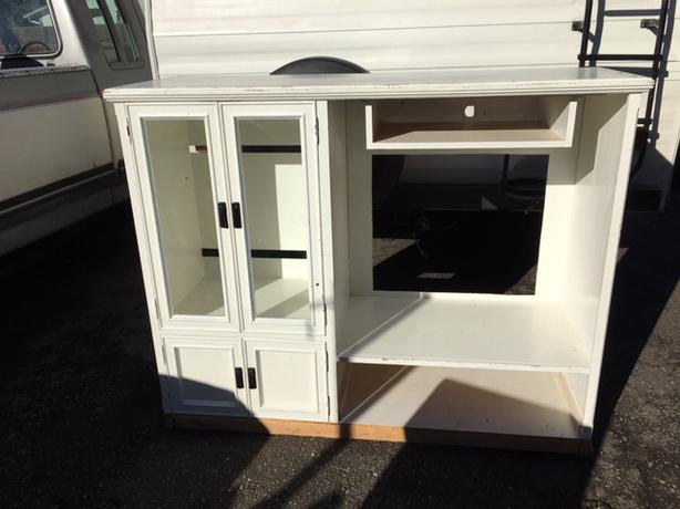 FREE: White Entertainment Unit