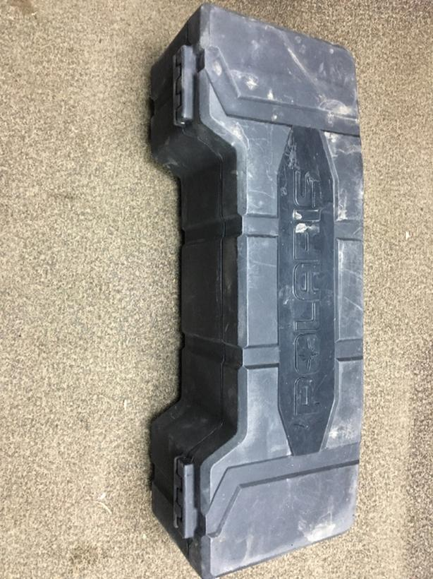 polaris lock and ride rear storage box