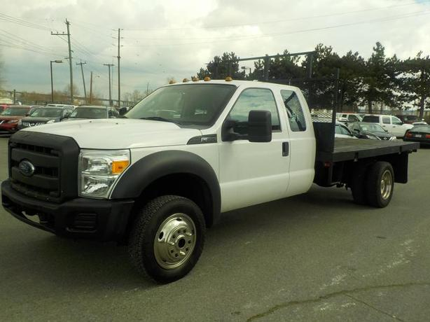 2015 Ford F-550 Flat Deck SuperCab Dually  4WD