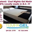 COOL NIGHTS MATTRESS IS HERE ON SALE !! 100% CANADIAN MADE!