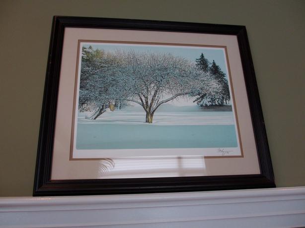 Ken Danby Lithograph - After Snowfall