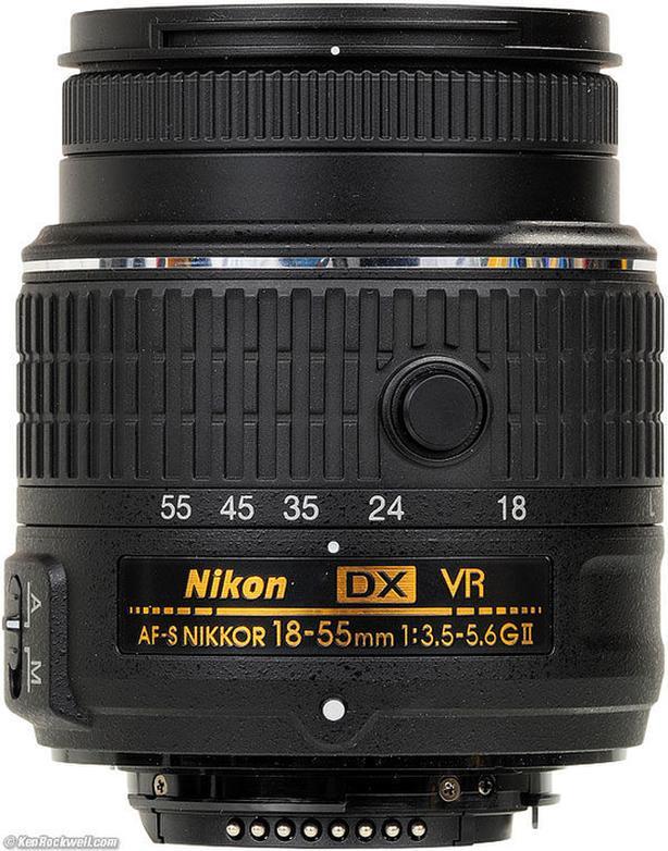 NIKON AF-S 18-55 DX G VR2 / the latest improved Version
