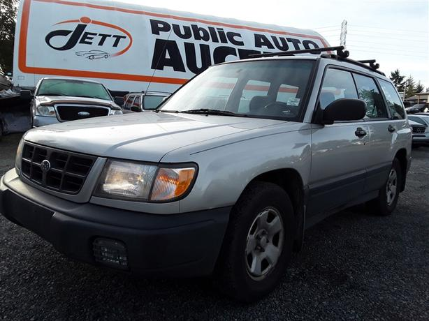 1999 Subaru Forester No Reserve - Selling to the Highest Bidder!