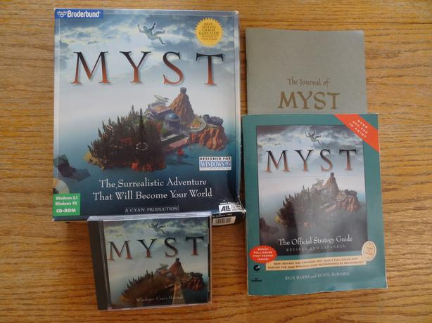 Vintage Win 95 Games, Hobby Software & MYST