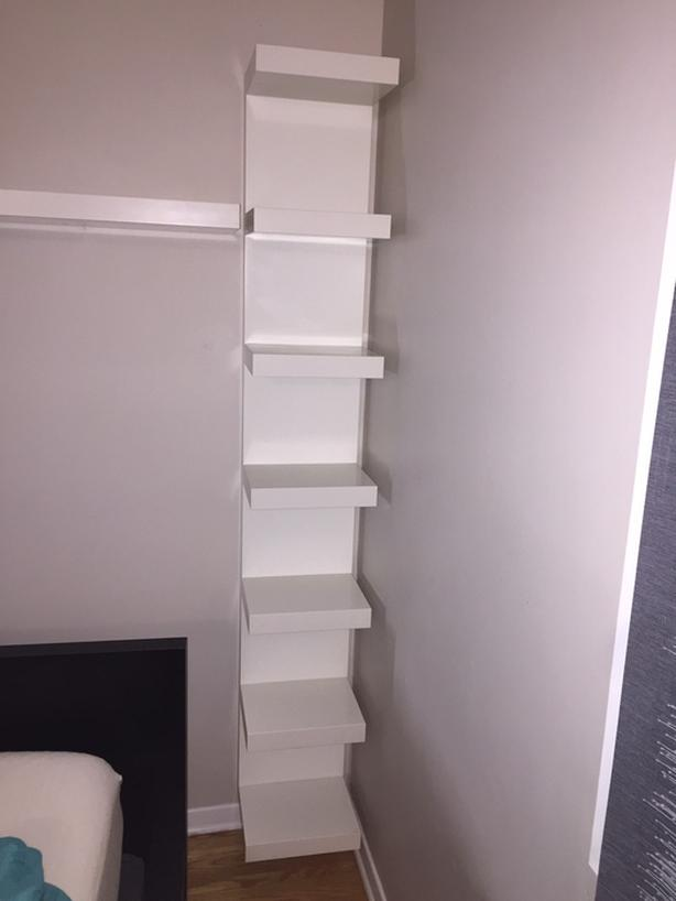 Ikea White Lack Shelf unit  for sale
