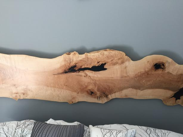 NEW! Stunning Maple Headboard for Queen or King Bed-Locally Made Designs!