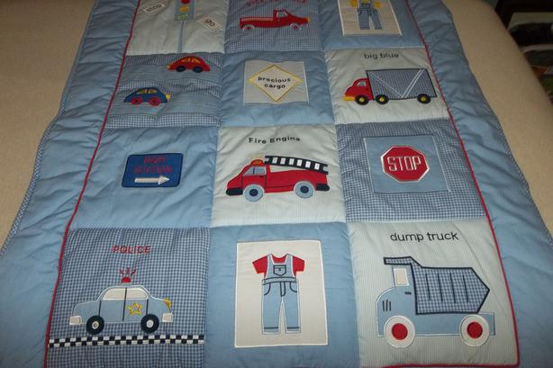 Precious Cargo Crib Bedding Set- CARS by Lamb & Ivy + more